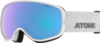 ATOMIC Count S Stereo X Skibrille weiß