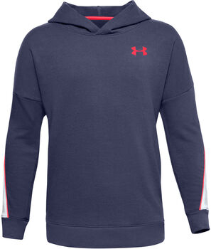Under Armour Rival Terry Hoodie Jungen blau