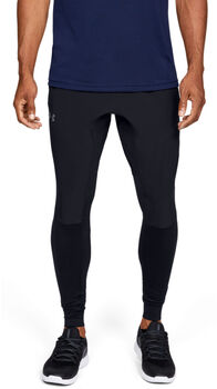 Under Armour Hybrid Tights Herren schwarz