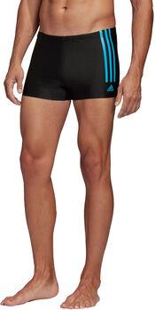 ADIDAS Semi 3-Streifen Boxer-Badehose Herren schwarz