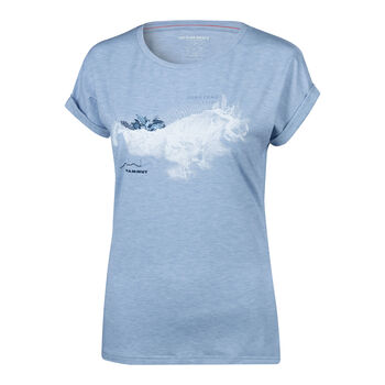 MAMMUT Mountain T-Shirt Damen grau