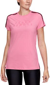 Under Armour Sport Branded T-Shirt Damen pink