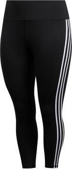 adidas Believe This 3-Streifen 7/8 Tights Damen schwarz