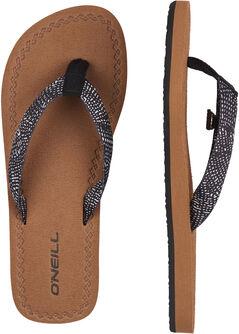 FW Woven Strap Flip Flops
