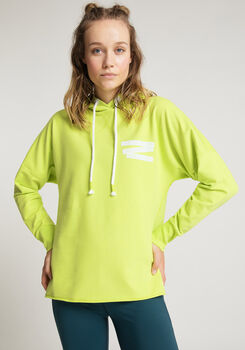 VENICE BEACH Denise 4021 Sweatshirt mit Kapuze Damen grün