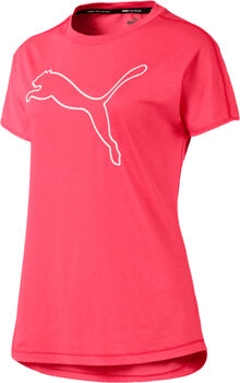 PUMA Puma Cat Tee Damen pink