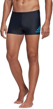 adidas Badge Fitness Boxer Badehose Herren blau