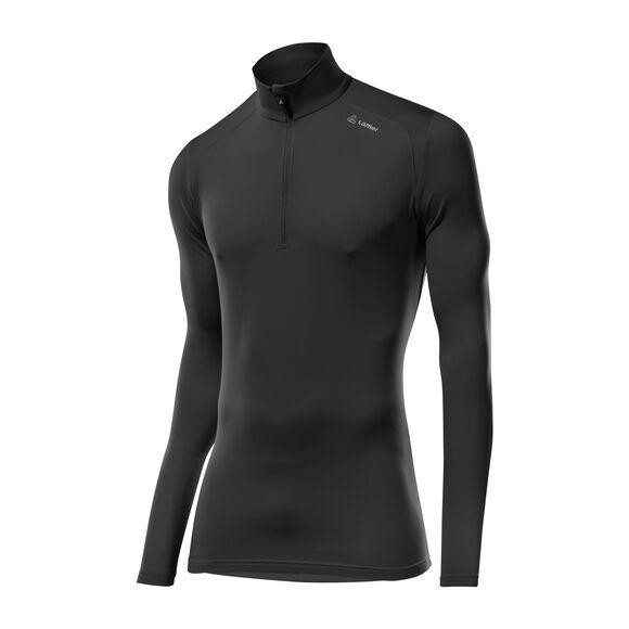 Basic Thermo-Velours Langarmshirt