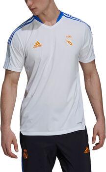 adidas Real Madrid Tiro Trainingstrikot Herren weiß