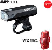 AMPP 500 + ViZ 150 Fahrradlicht-Set