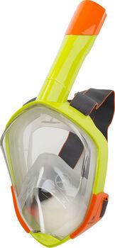 TECNOPRO FullFace Mask M9C Maske & Schnorchel gelb