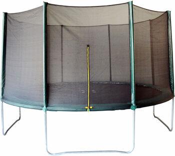 ENERGETICS Outdoortrampolin 3m im Set mit Sicherheitsnetz grün