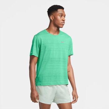 Nike Dri-FIT Miler T-Shirt Herren grün