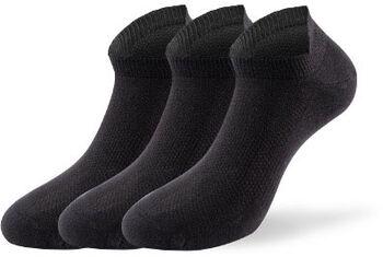 Lenz Performance Sneakersocken schwarz
