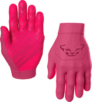 DYNAFIT Upcycled Thermal Tourenhandschuhe pink