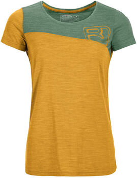 ORTOVOX 150 Cool Tec T-Shirt Damen gelb