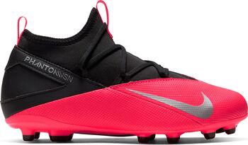Nike Phantom VSN 2 Club DF FG/MG Nockenfußballschuhe rot
