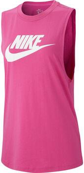 Nike Nsw Tank Essntl Mscl Top Damen pink