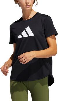 adidas 3 Bar Logo T-Shirt Damen schwarz