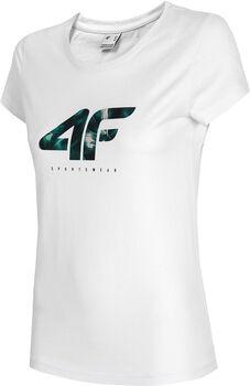 4F T-Shirt Damen weiß