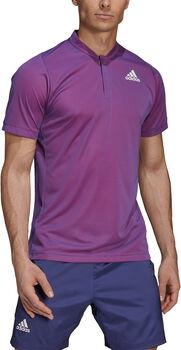 adidas Primeblue Freelift Polo Tennisshirt Herren rot