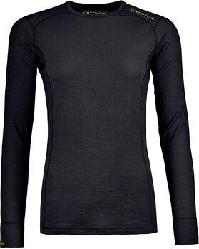 ORTOVOX 145 Ultra Langarmshirt Damen schwarz