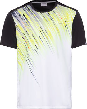 Head Visiso Slider B T-Shirt schwarz