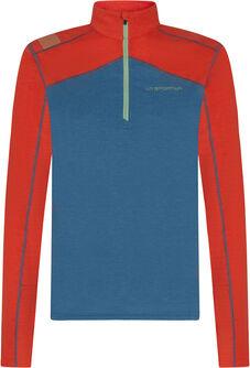 Swift Long Shirt mit Halfzipp