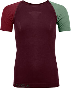 ORTOVOX 120 Comp Light T-Shirt Damen rot