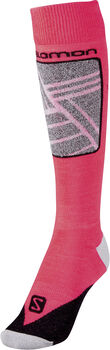 Salomon Performance Skistrümpfe pink