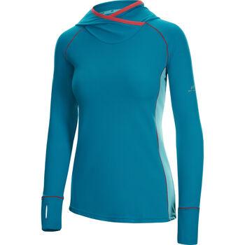 PRO TOUCH GAISHAN Langarmshirt mit Kapuze Damen blau