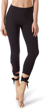 Skiny Yoga&Relax Performance Tights Damen schwarz
