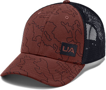 Under Armour Trucker Blitzing Kappe rot