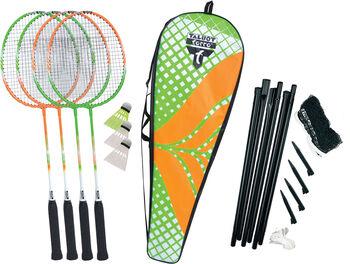 Talbot Torro 4-Attacker Plus Badminton-Set weiß