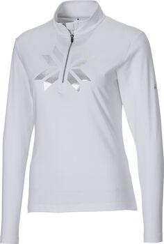 McKINLEY Daria II Langarmshirt mit Half Zip Damen weiß