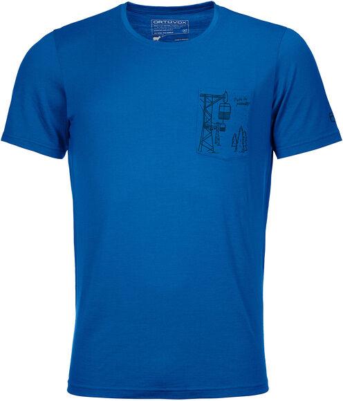 185 Merino Way to Powder T-Shirt