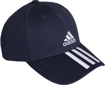 adidas Baseball 3-Streifen Twill Kappe blau
