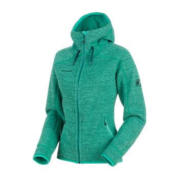 MAMMUT Arctic ML Hooded Fleecejacke Damen grün