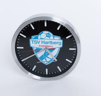 NOBRAND TSV Hartberg Wanduhr  Herren weiß