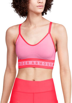 Under Armour Seamless Longline Sport-BH Damen pink