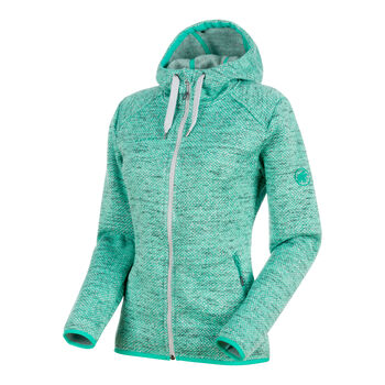 MAMMUT Chamuera ML Hooded Damen grün