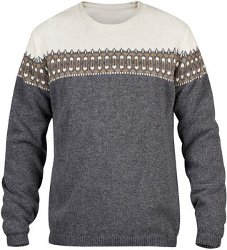 Fjällräven Övik Scandinavian Sweater Herren grau