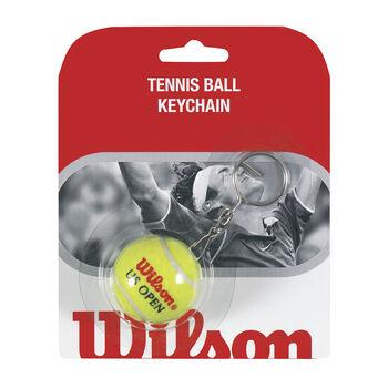 Wilson Schlüsselanhänger in Tennisballform weiß