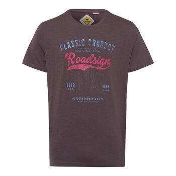 Roadsign Australian Cactus T-Shirt Herren schwarz