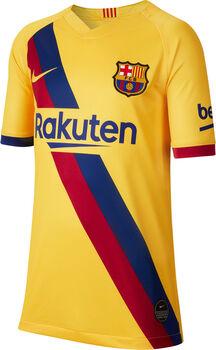 Nike FCB Barcelona Stadium Away Fußballtrikot Jungen gelb