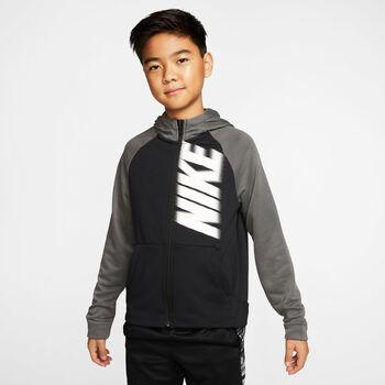 Nike Dry Fleece Kapuzenjacke Jungen schwarz