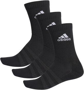 adidas Essentials Cushioned Crew Socken 3er-Pack schwarz