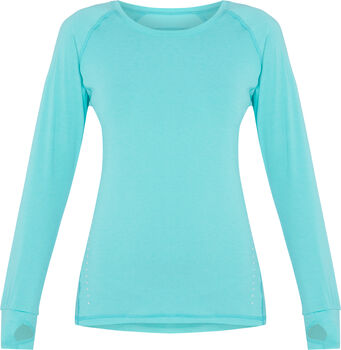 PRO TOUCH Eeva Langarmshirt Damen blau