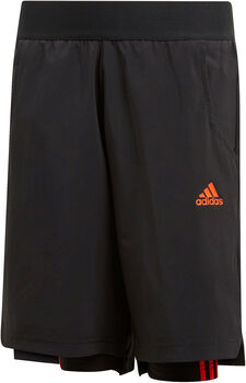 adidas YB P 2IN1 SHORT schwarz