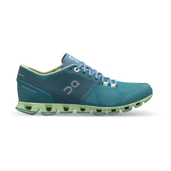 On Cloud X Laufschuhe Damen grau
